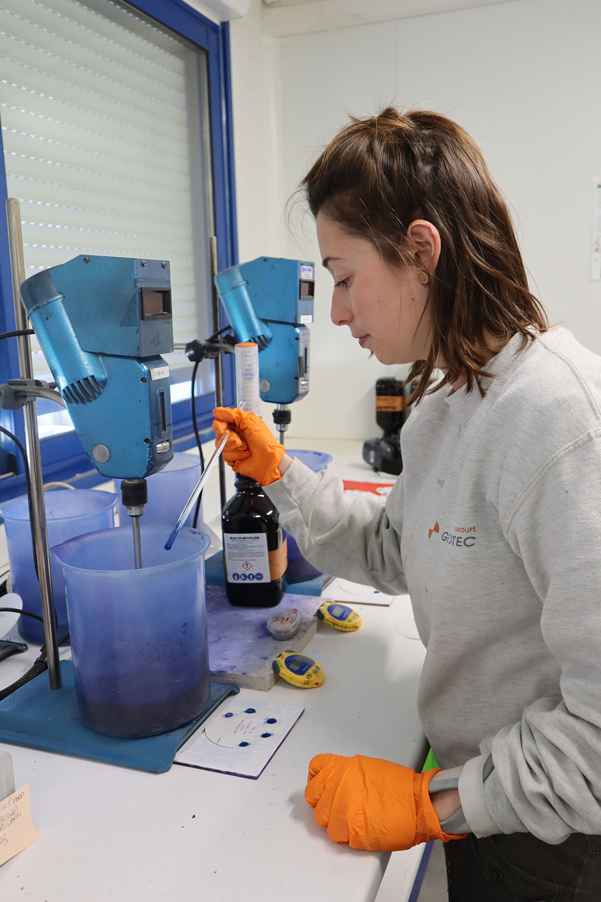 Technicienne laboratoire